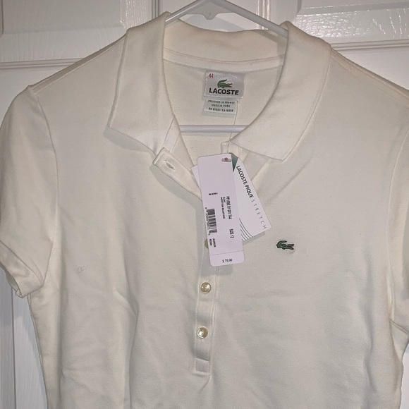 Lacoste Tops - Woman's Lacoste Polo style shirt